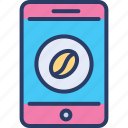 app, application, coffee, internet, mobile, online, smartphone