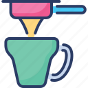 barista, coffee, cup, espresso, extraction, filter, maker
