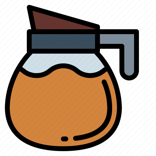 coffee, drink, hot, pot icon