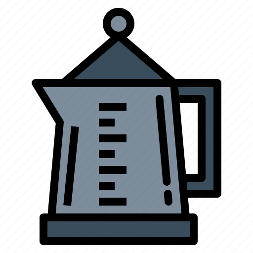 Drink, coffee, tea, pot, hot, kettle icon - Download on Iconfinder