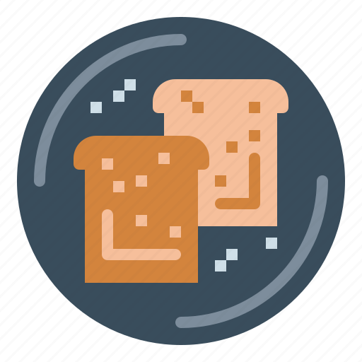 Bakery, bread, breakfast, toast icon - Download on Iconfinder