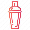 bar, cocktrails, drink, shaker icon
