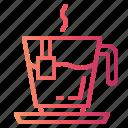 tea, hot, drink, cup icon