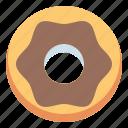 donut, doughnut, food, sweet