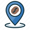 cafe, coffee, location, point, shop