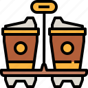 away, coffee, drink, hot, take, tea icon