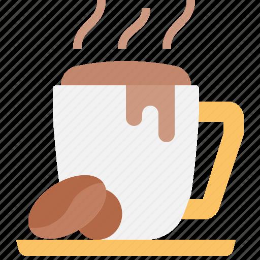 Beverage, coffee, cup, drink, hot, mug icon - Download on Iconfinder