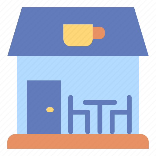 building, business, coffee, restaurant, shop, store icon