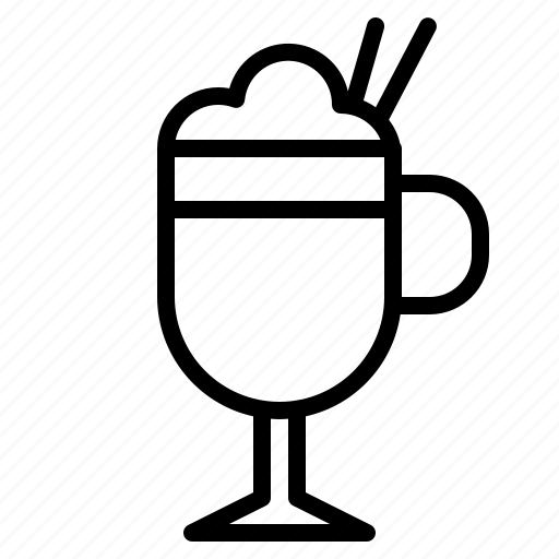 and, coffee, cup, food, latte, restaurant, shop icon