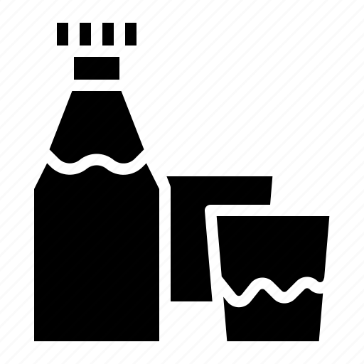bottle, drink, food, hydration, water icon