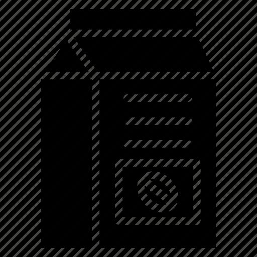 coffee bag, coffee beans, coffee pack, coffee packaging, coffee sachet icon