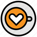 cafe, cappuccino, coffee, drink, espresso icon