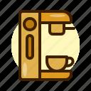 cafe, coffee, machine, shop