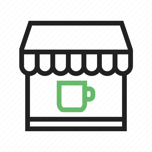 coffee, cup, drink, shop, store icon