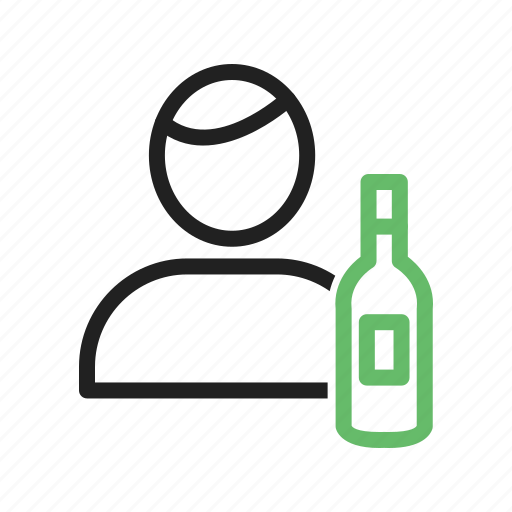 bar, barkeeper, bartender, waiter icon