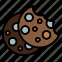 coffeeshop, cookie, biscuit, cracker, food