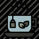 coffeeshop, tea, cup, drink, hot