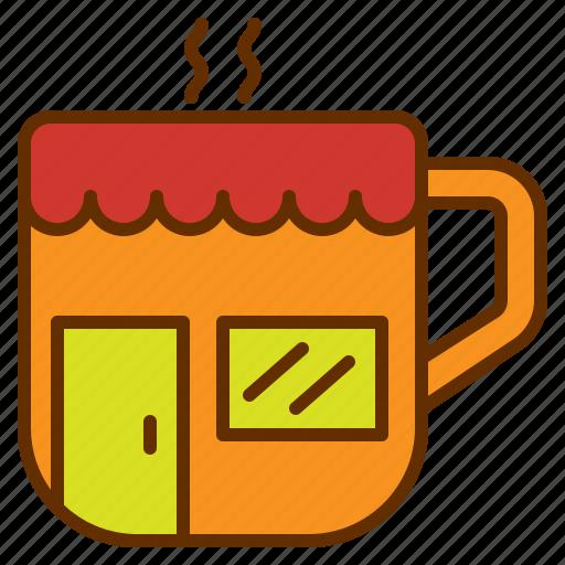 coffee, cup, drink, mug, shop, store icon