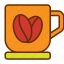 coffee, cup, drink, hot coffee, mug, tea icon