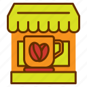 coffee, cup, mug, shop, store, tea icon