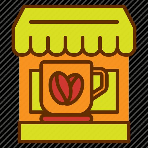 coffee, cup, mug, shop, store, tea icon