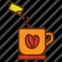 cup, drink, hot coffee, mug, tea