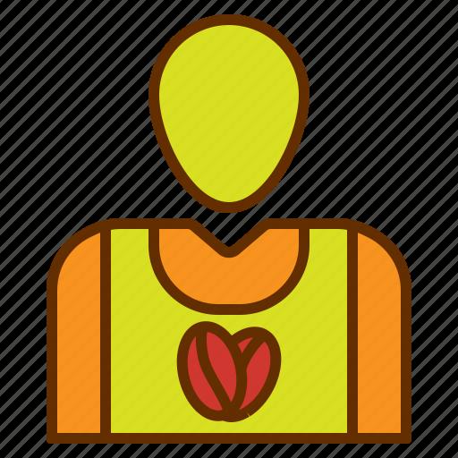 account, avatar, coffee, employee, people icon