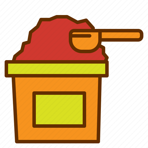 Cafein, sweet, bowl, powder, coffee icon - Download on Iconfinder