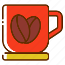 cup, drink, hot coffee, mug, tea icon