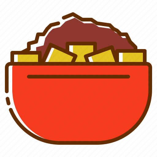 Sweet, bowl, chocolate, coffee, cafein, powder icon - Download on Iconfinder