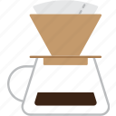coffee, drink, drip, filter, filtred, hario, v60 icon