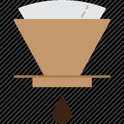 barista, coffee, drink, drip, espresso, hario, v60 icon