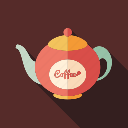 cafe, coffee, drink, fresh, kettle, natural, restaurant icon