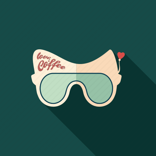 cafe, coffee, drink, glasses, restaurant, summer, sunglasses icon