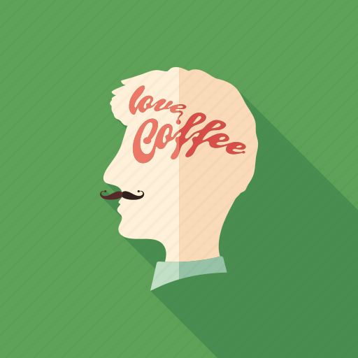 avatar, cafe, coffee, drink, head, hipster, man icon