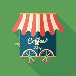 booth, cafe, coffee, drink, fresh, restaurant, shop icon