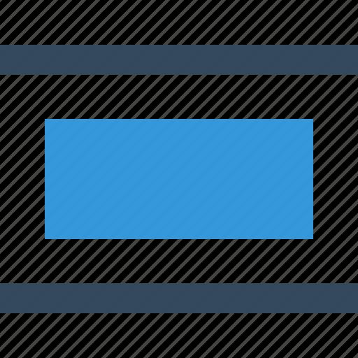distribute, editor, graphic, horizontal icon