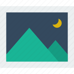 editor, image, night, photo, picture icon