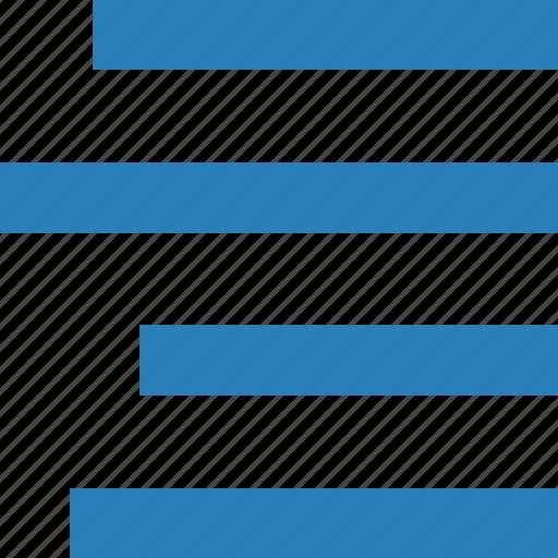 align, editor, right, text icon