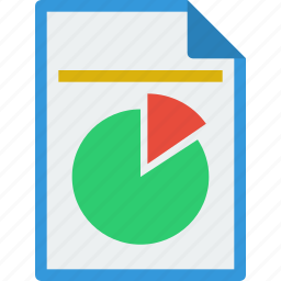 analystic, document, file, format, keynote, powerpoint, ppt, presentation, report icon