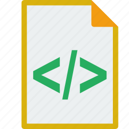 file, format, html icon