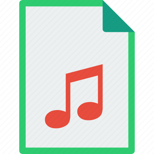 audio, file, format, midi, mp3, music icon