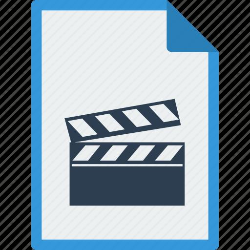 file, format, movie, mp4, video icon
