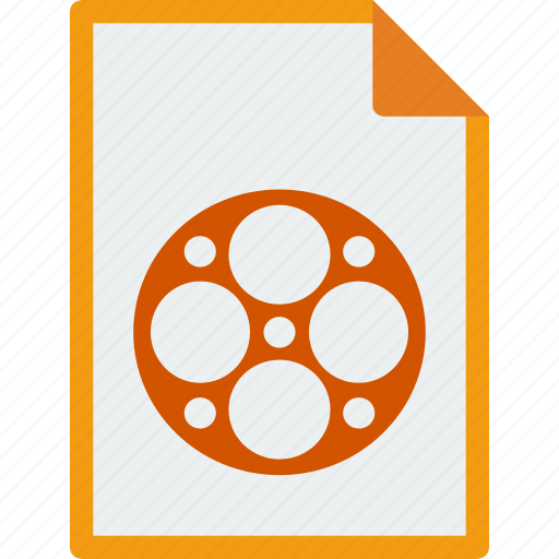 file, format, mp4, mpeg icon