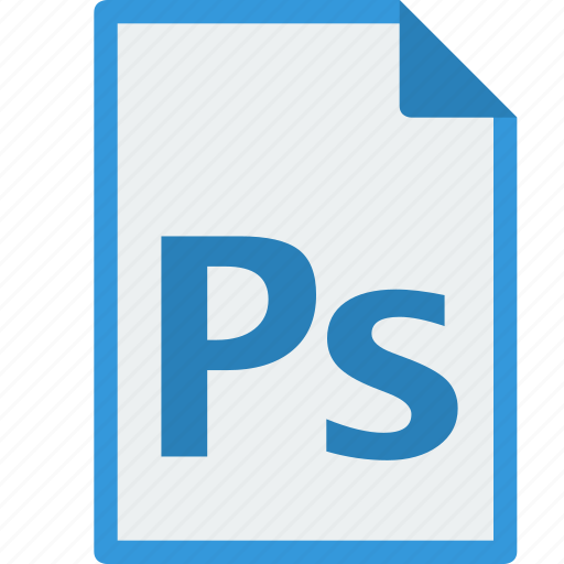 file, format, photoshop, psd icon