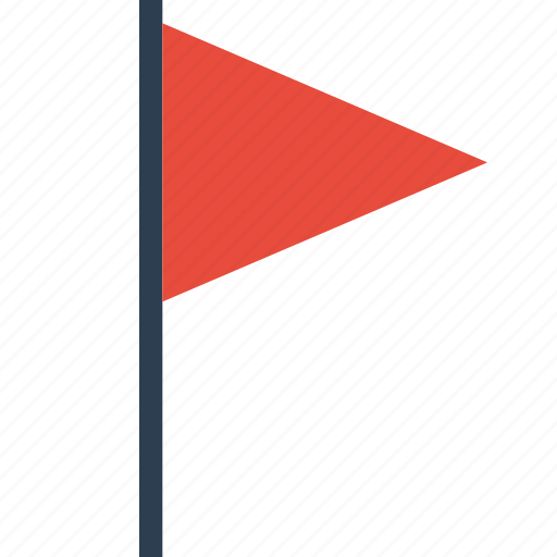 flag, notification icon