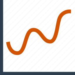analystic, chart, line, report icon