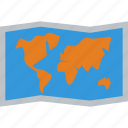 map, world icon