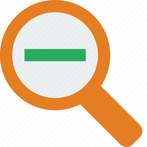 Search, zoom, glass, magnifier, magnifying, out icon - Download on Iconfinder