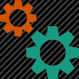 configure, gear, gears, setting icon